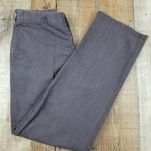 Tommy Hilfiger Brown Khaki Men's Pants BQ30